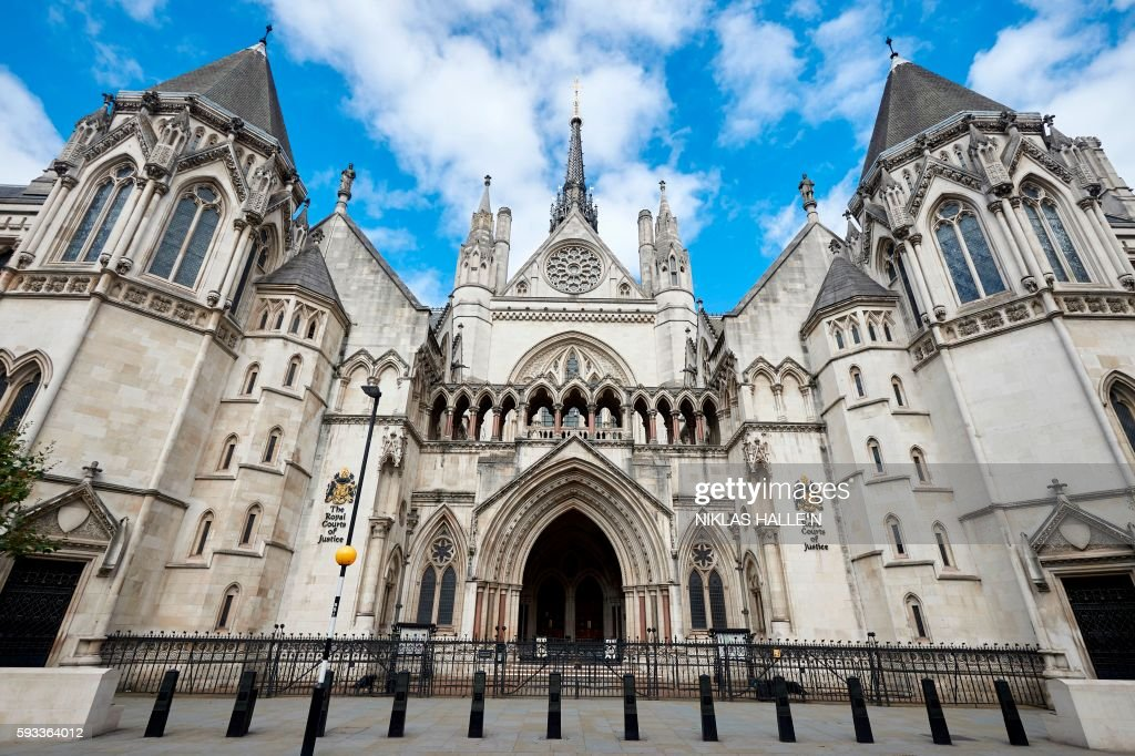 BRITAIN-COURTS-ARCHITECTURE : News Photo