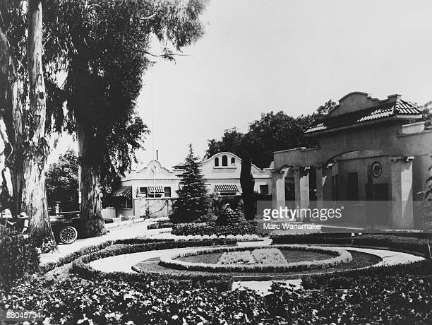 The front entrance to Universal Studios California 1916