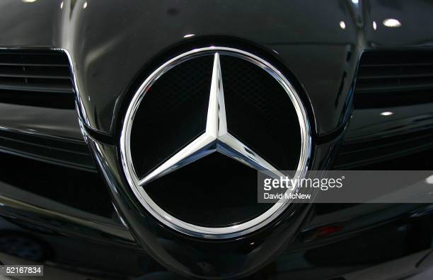 The front grille area of a MercedesBenz SLK350 is shown at a dealership February 9 2005 in Glendale California To pacify an animal rights group...
