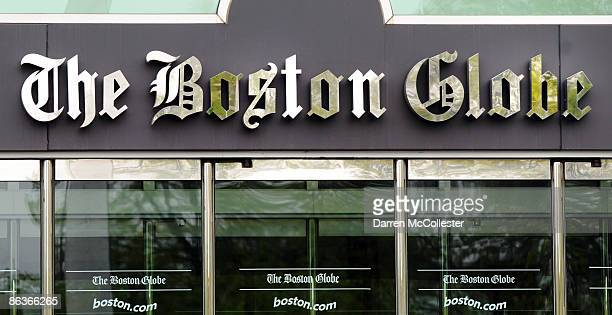 The front of The Boston Globe is seen May 4 2009 in Dorchester Massachusetts Negotiations between the New York Times The Globes parent company and...