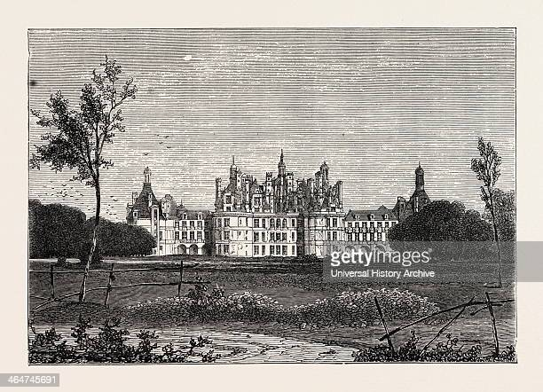 The Front Of The Chateau De Chambord France 1871