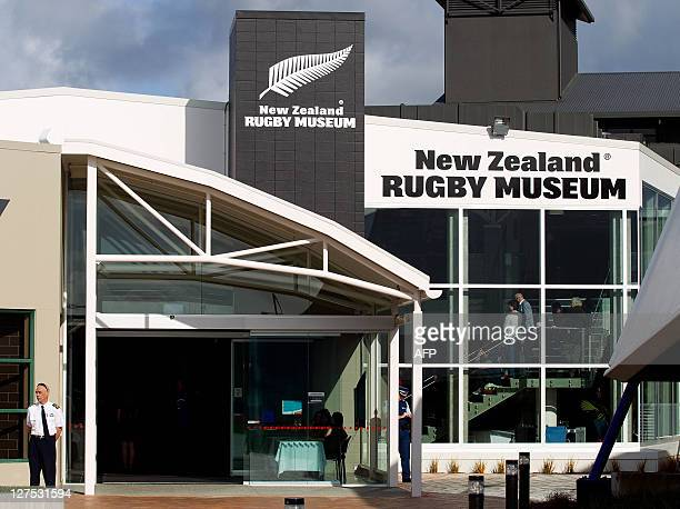The front of the New Zealand Rugby Museum in Palmerston North City on September 28 2011 AFP PHOTO / Marty Melville