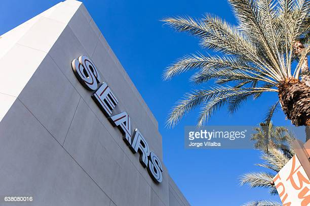 The front of the Sears store inside a mall galleria