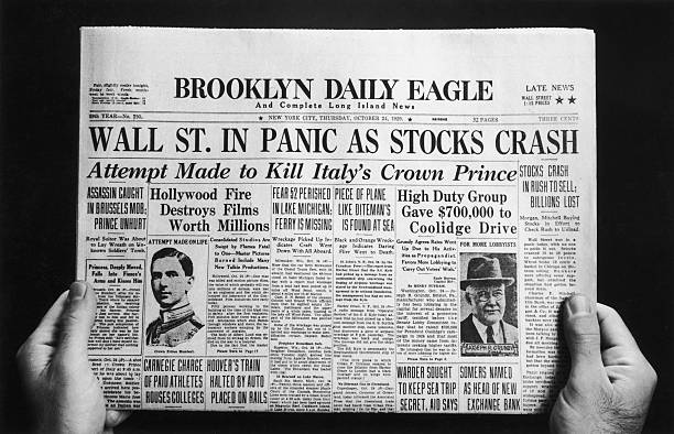NY: 24th October 1929 - Black Thursday: The Start Of The Wall Street Crash
