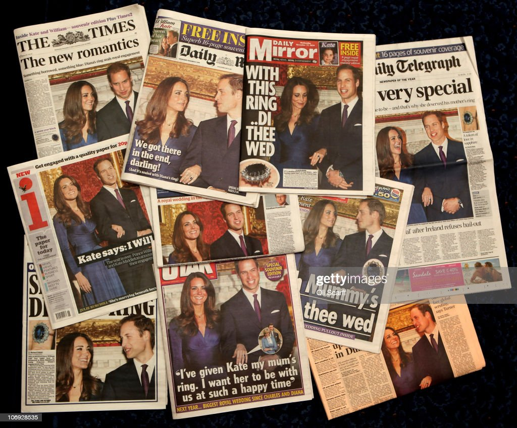 UK Gears Up For A Royal Wedding After Engagement Announcement : News Photo