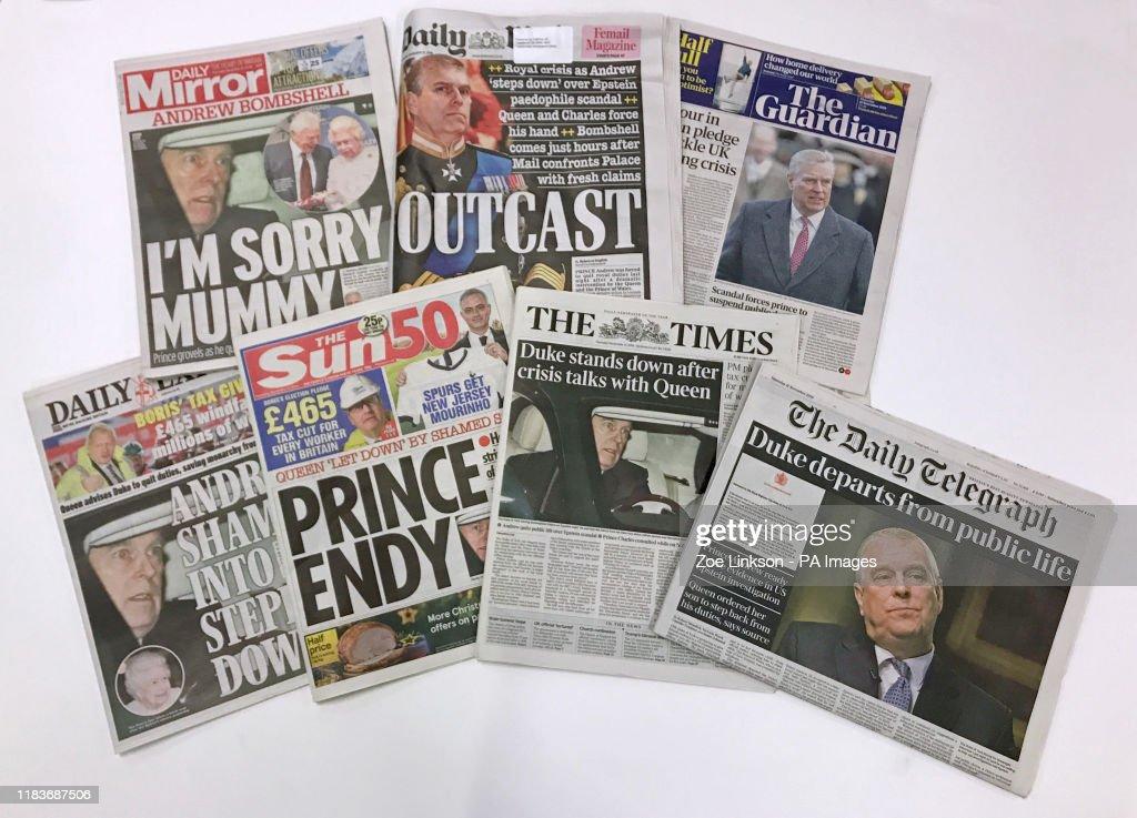 Duke of York royal duties : News Photo