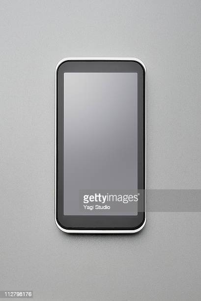 The front view of the smartphone
