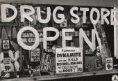 The front window of a drug store in harlem after the 1943 riots a picture id83180974?s=170x170