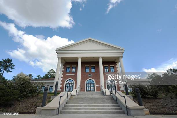 The Ft Bragg military courthouse on November 2 2017 in Ft Bragg North Carolina Robert Bowdrie Bowe Bergdahlis in facing life in prison after pleading...