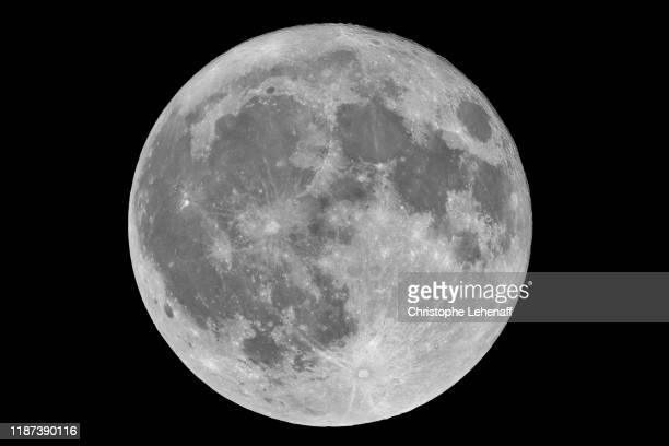 the full moon of november 2019. image in high definition - moon stock pictures, royalty-free photos & images