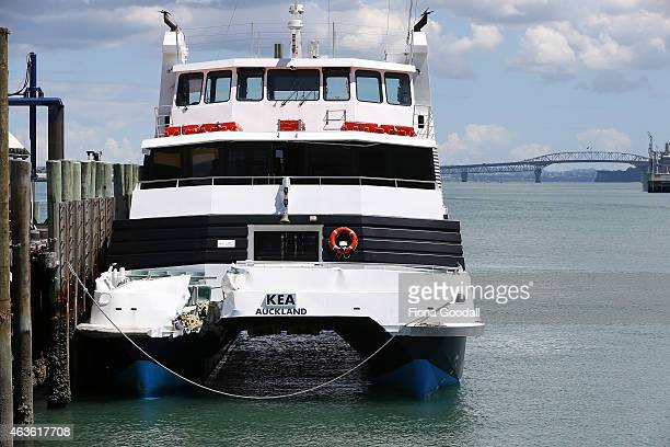 The Fullers Ferry Devonport Ferry Kea sustained damage to the bow after colliding with the wharf in Devonport as it came in to berth on February 17...