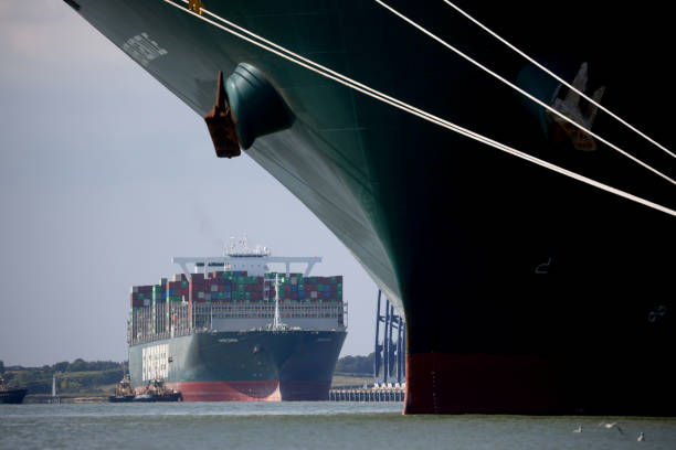 GBR: Ever Given, Ship Stuck In Suez, Arrives At Felixstowe Port