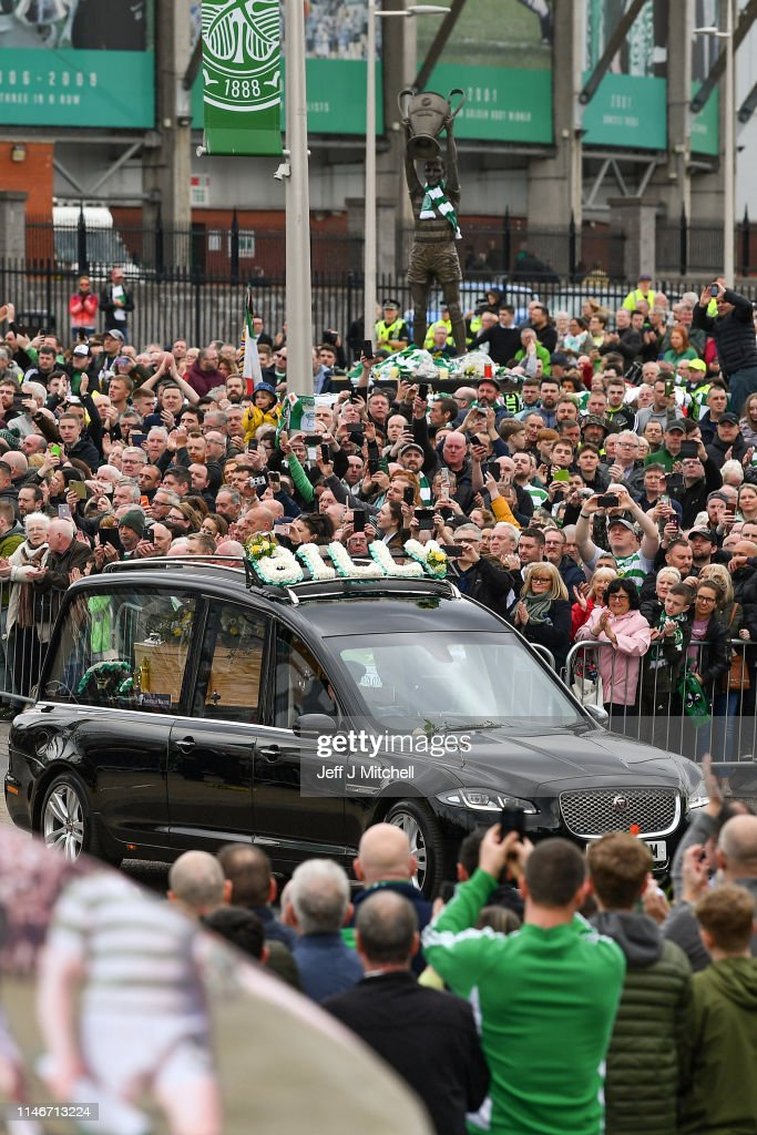 Funeral Of Lisbon Lion Billy McNeill Takes Place At Celtic Park : News Photo