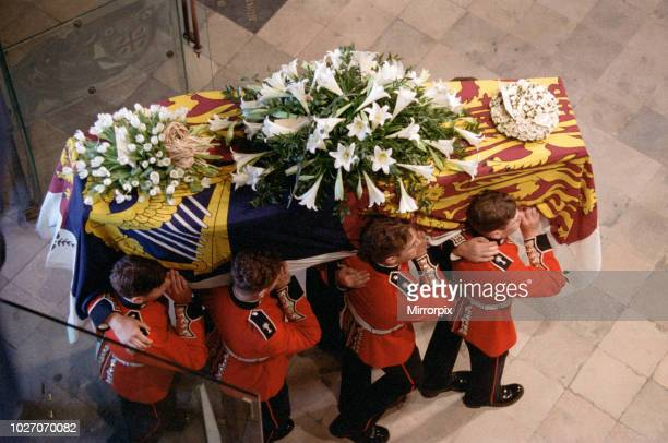 The funeral of Diana Princess of Wales at Westminster Abbey London 6th September 1997