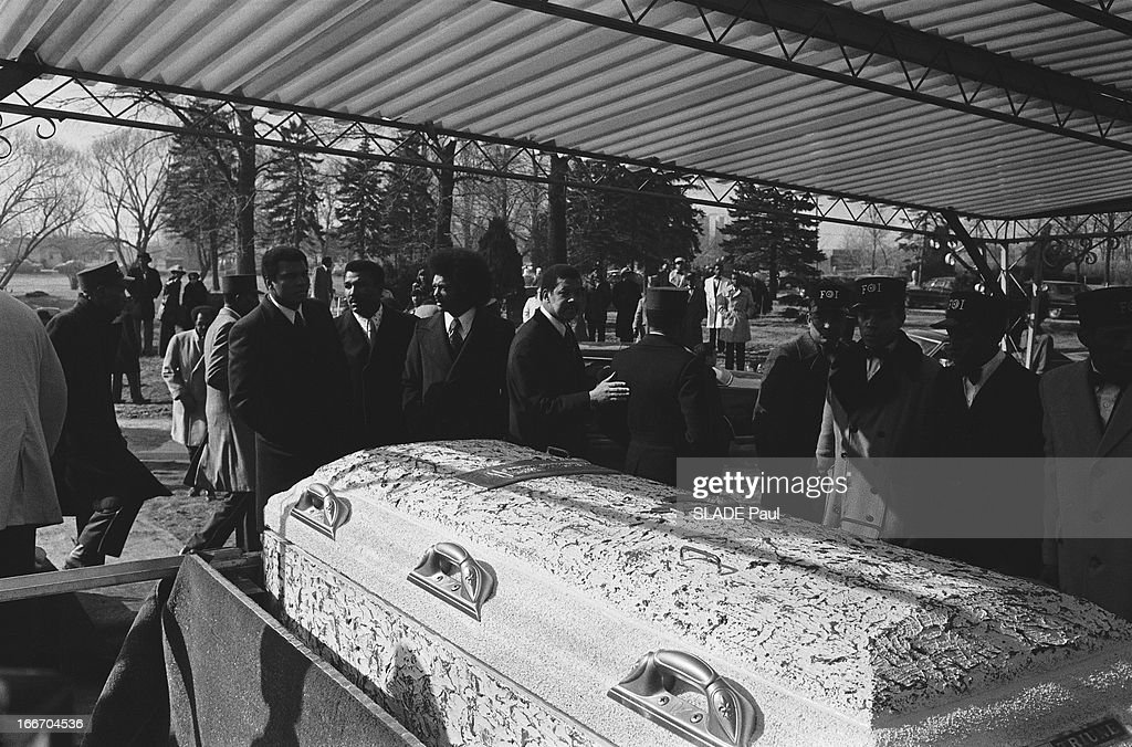 The Funeral Of Elijah Muhammad, Religious Chief Of The ...