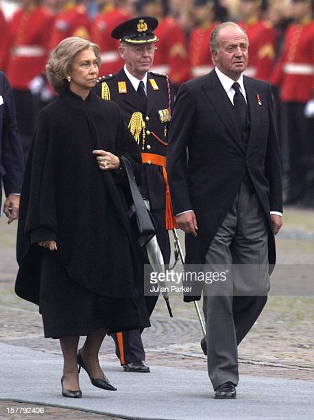 The Funeral Of His Royal Highness Prince Claus Of The Netherlands At The Nieuwe Kerk In Delft