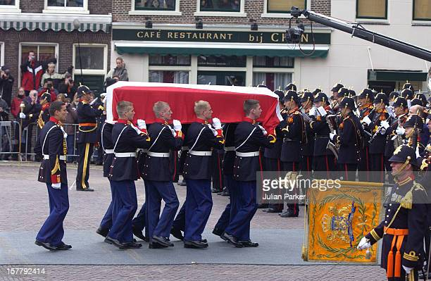 The Funeral Of His Royal Highness Prince Claus Of The Netherlands At The Nieuwe Kerk In Delft.