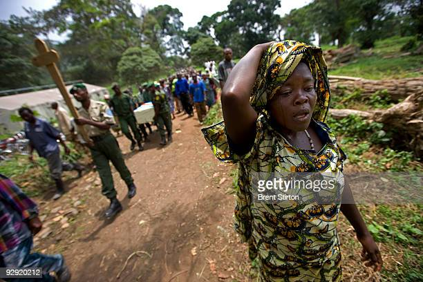 The funeral of ICCN Ranger Kambale Kalibumba at Mutsora Ranger Station He was killed by a rogue FARDC Congolese soldier who allegedly had a fallout...
