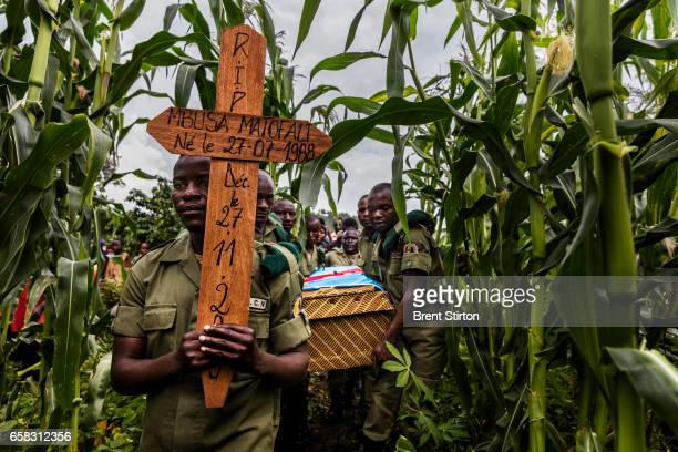 The funeral of ICCN Ranger Theodore Mbusa Matofali after a tragic car accident which left him dead from head injuries Over 150 ICCN rangers have died...
