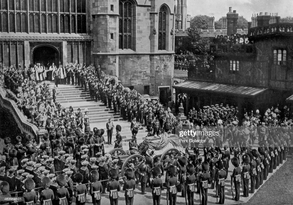 The funeral of King Edward VII, Windsor, Berkshire, 1910.Artist: Swain : News Photo