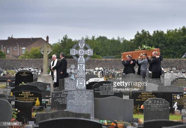 The funeral of Kitty Neeson mother of Hollywood actor Liam Neeson takes place on June 9 2020 in Ballymena Northern Ireland Mrs Neeson aged 94 passed...