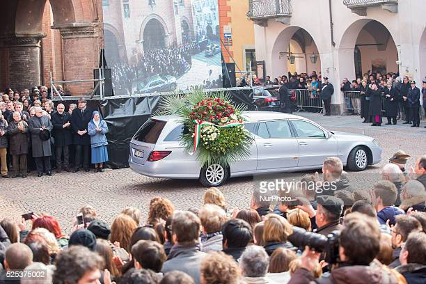 The funeral of Michele Ferrero was held in Alba Italy on February 18 2015 in Alba northern Italy Billionaire Michele Ferrero who became Italy's...