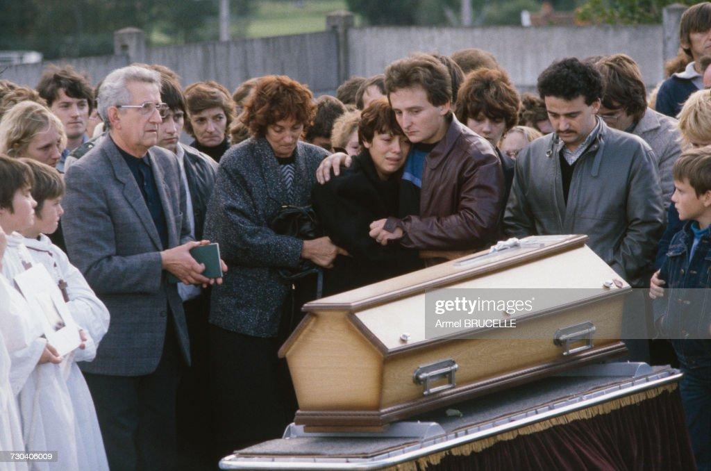 Funeral Of Grégory Villemin : News Photo