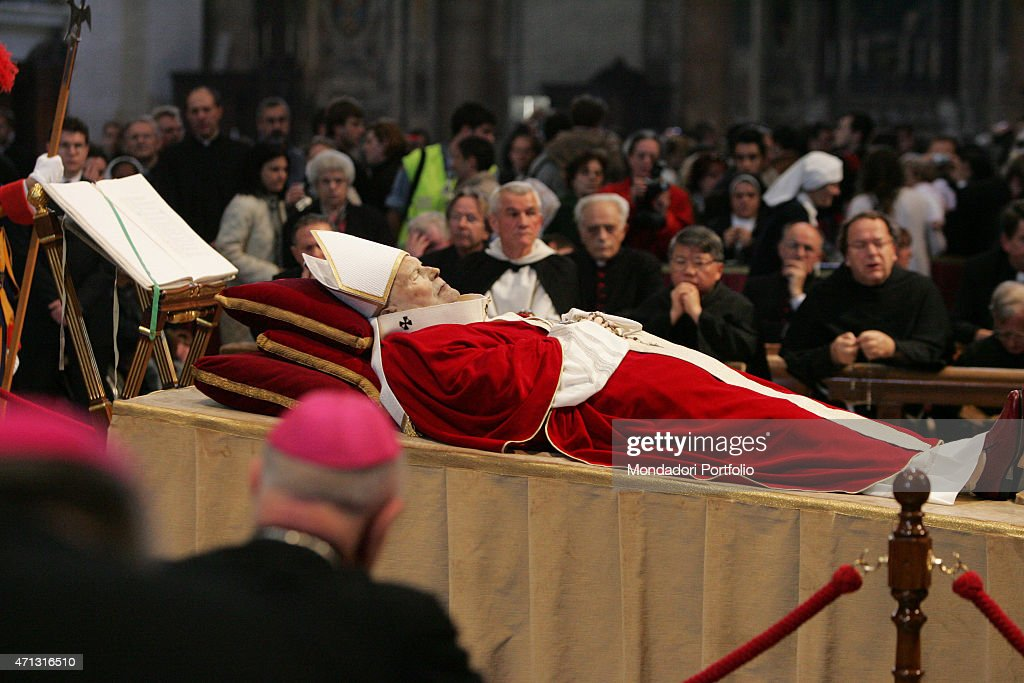 Image result for pope john paul II getty images