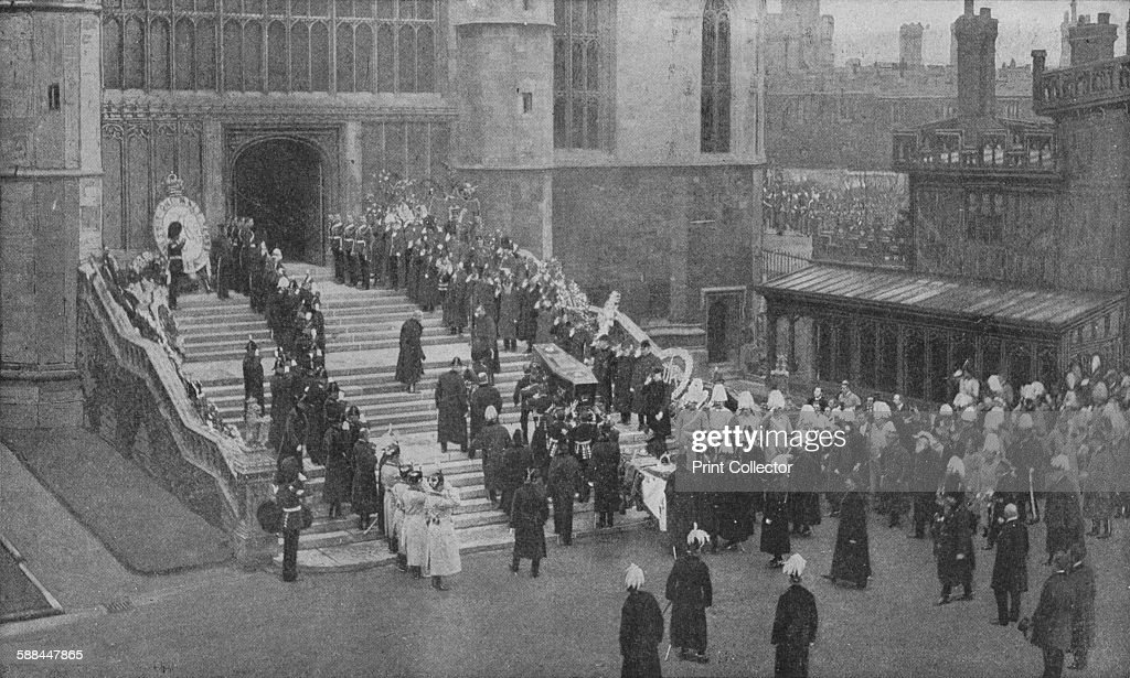 The funeral of Queen Victoria : News Photo