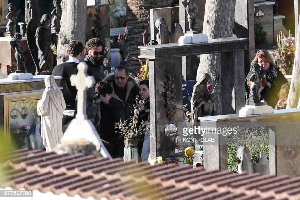 CEMETERY CORLEONE SICILY ITALY The funeral of Salvatore Riina known as Toto 'Riina the head of the dome mafia boss in Corleone Sicily southern Italy...