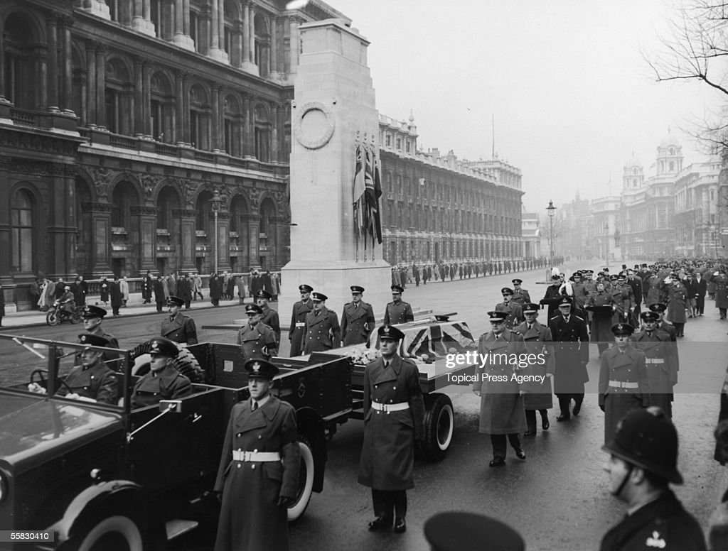 Trenchard's Funeral : News Photo