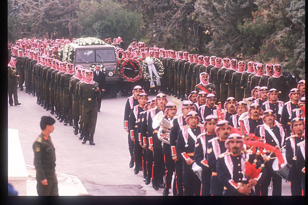 Image result for the funeral of king hussein of jordan