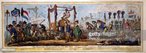 The funeral procession of the rump A satire on the defeat of Hobhouse by Lamb at the Westminster Election The Rump or remnant of Reformers is...