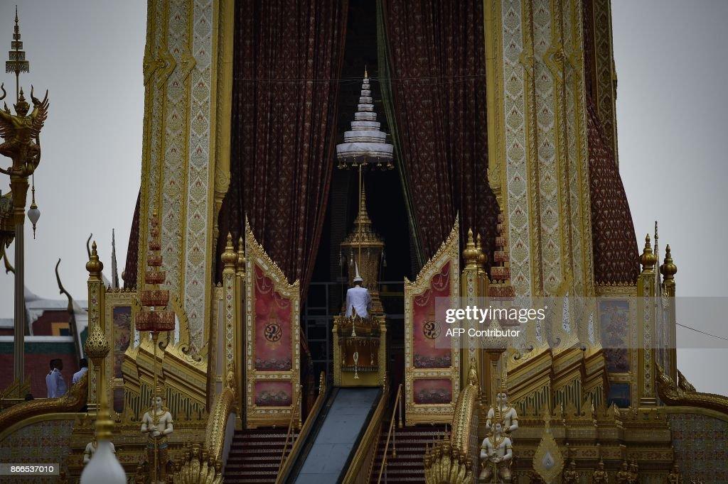 THAILAND-ROYALS-CREMATION : Nieuwsfoto's
