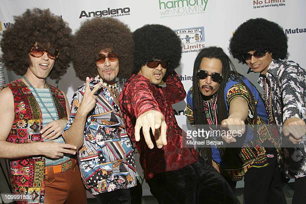 The Funky Hippeez during Harmony with No Limits Premiere Gala Presented by Washington Mutual - April 21 2006 at Skirball Cultural Center in Los...