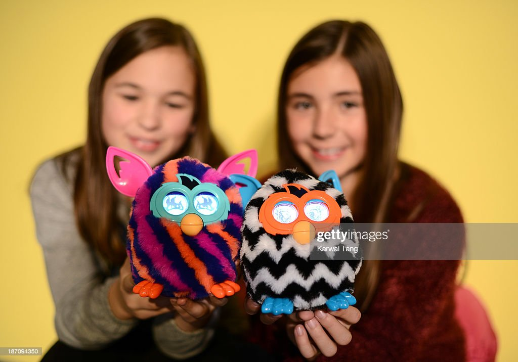 The Furby Boom!, named one of the must-have toys for Christmas 2013, is unveiled today at the Dream Toys Fair at St Mary's Church on November 6, 2013 in London, England.