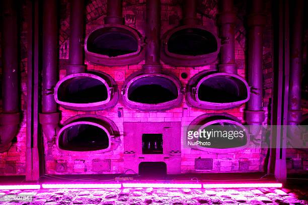The furnaces in the old gas factory in Technopolis in Athens April 6 2016
