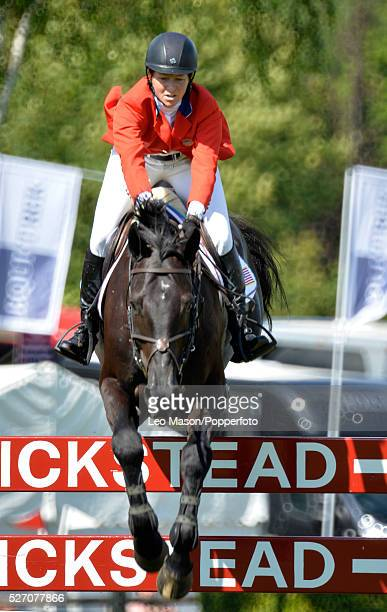 The Furuisiyya Longines FEI Nations Cup Meeting Hickstead UK Elizabeth Madden USA riding Cortes C