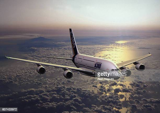 The future Airbus A380 will have 650 seats and will be able to fly 14500 km without refuelling