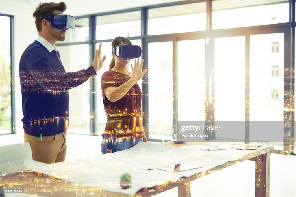 The future is a dream bigger than you would imagine : Stock Photo