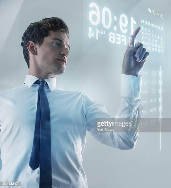 Die Zukunft ist heute-Touchscreen-Technologie