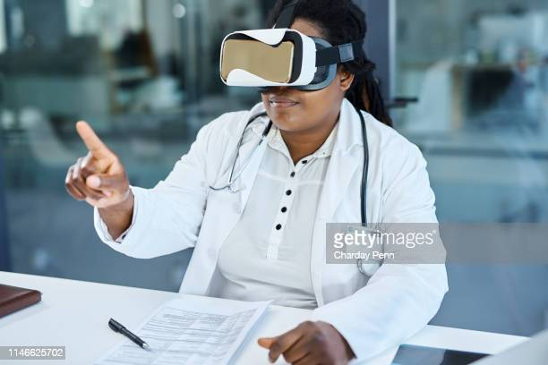the future of medicine is changing - virtual reality stock pictures, royalty-free photos & images
