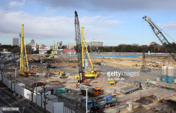 The future Olympic stadium designed by japanese architect Kengo Kuma has just started its construction few weeks ago to be complete for the Tokyo...