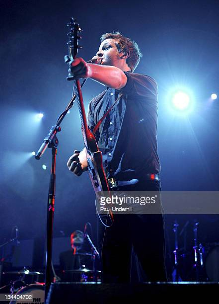 The Futureheads during Shockwaves NME Awards Tour - The Killers, Kaiser Chiefs, Bloc Party and Futureheads - February 9, 2005 at Brixton Academy in...