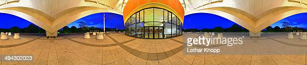 CONTENT] The futuristic building was built as Kongresshalle conference hall It is a gift from the United States designed in 1957 by the American...