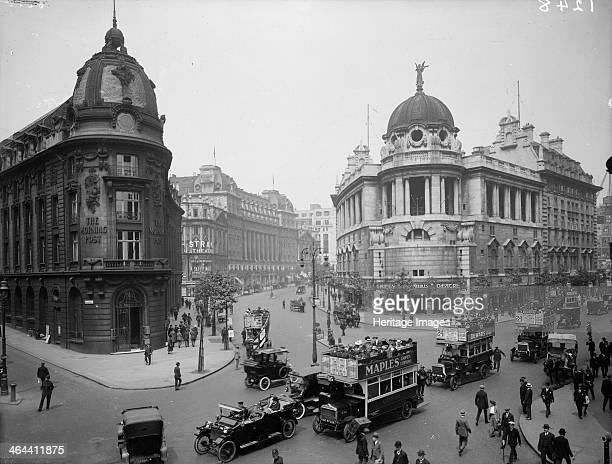 The Gaiety Theatre stood on the corner of The Strand and Aldwych c1903 This replaced an earlier theatre and was opened in 1903 It was demolished in...