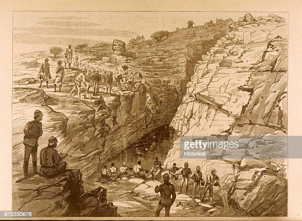 The Gakdul Wells were of strategic importance to the British forces since they provided the only source of water for the troops on their march of...