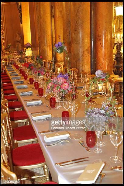 The Gala Evening Celebrating The 35th Anniversary Of L'Arop At L'Opera Garnier In Paris