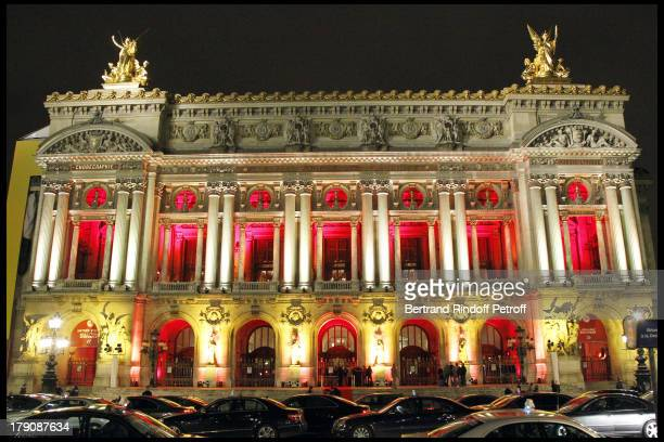 The Gala Evening Celebrating The 35th Anniversary Of L'Arop At L'Opera Garnier In Paris