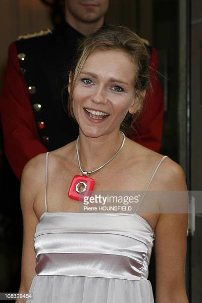 The Gala of The Assistance for Refugee Children at Salle Gaveau Claire Borotra in Paris France on June 28th 2010